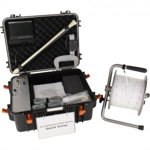 Geosystems heavy duty winch for borehole cameras