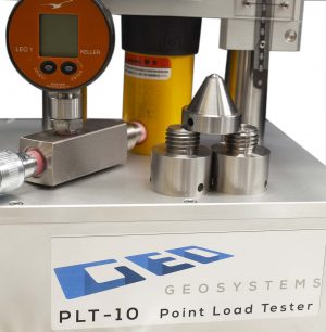 Point load tester geotechnical equipment from Geosystems