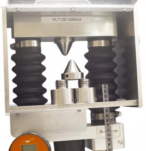 PLT-10 Point load tester - rock fracture testing.