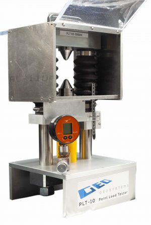 PLT-10 Point load tester - rock fracture testing